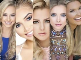 Финалистки конкурса красоты в США