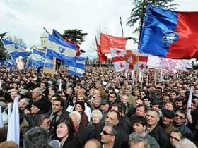 Обструкция Грузии сообщила акцию штатского непослушания