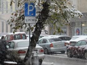 зима,снег,пробка,