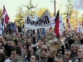 Трое приверженцев оппозиции избита В Тифлис