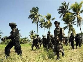 Войска Шри-Ланки обновили свет по бунтовщикам