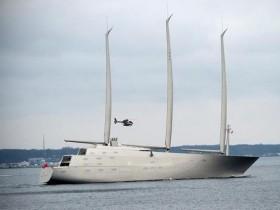 яхта,Sailing Yacht A