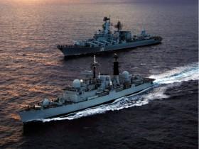 Военные корабли РФ готовы к войне с пиратами
