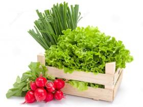 весенние овощи