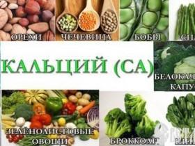 Растительные источники кальция