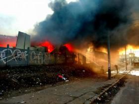 пожар на Петровке