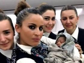 роды в самолете
