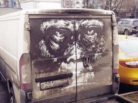 рисунок на машине