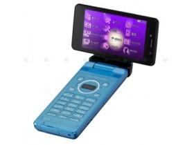 Влагонепроницаемый телефонный аппарат с солнечной батареей от Sharp