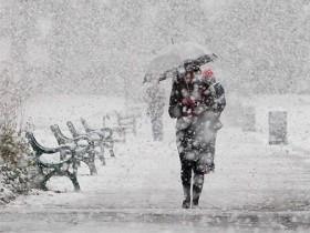 зима,снегопад