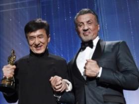Сильвестр Сталлоне и Джеки Чан
