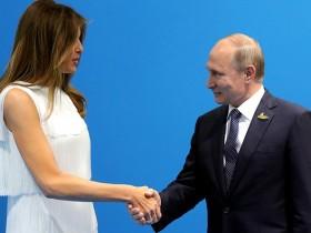 Мелания Трамп, Путин
