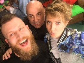 Дорн выступил на фестивале в России с новым альбомом (ВИДЕО)