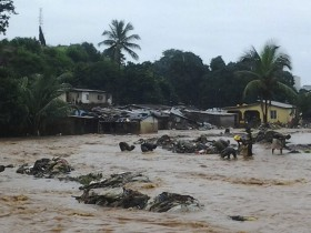 Сель в Сьерра-Леоне