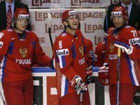 Сборная РФ - первая по хоккею с шайбой