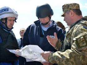 В Зайцево снайпер обстрелял украинских наблюдателей