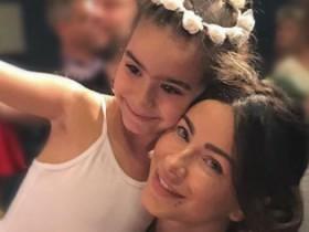 Ани Лорак и дочь