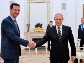 Асад, Путин