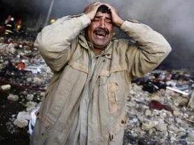 При взрыве в Багдаде пропало 60 человек