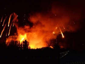 Пожар в Калиновке