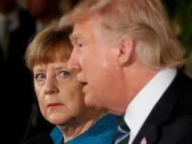 Трамп-Меркел