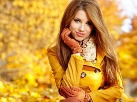 девушка-осень