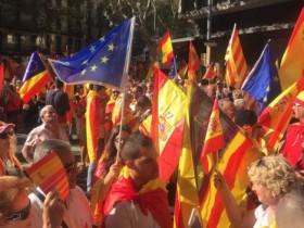 митинг в Барселоне