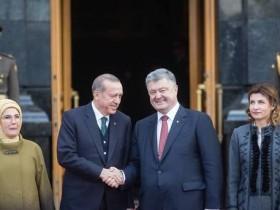 Раджеп Эрдоган и Петр Порошенко