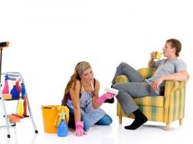 женщины и уборка