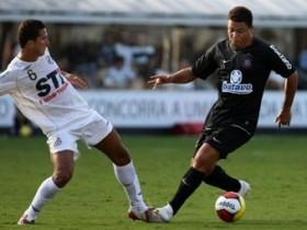 Роналдо загнал 2 нага в конце против Сантоса