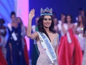 Мисс Мира 2017 Мануши Чхиллар
