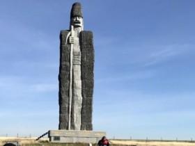 статуя чабана