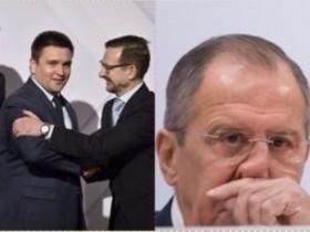 Климкин и Лавров в ОБСЕ.