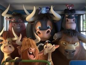 Кадр из мультфильма «Фердинанд»