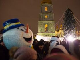 Новый 2018 год на Софийской площади
