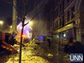 пожар возле ЦУМа