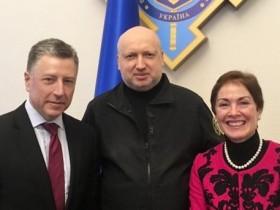 Волкер, Турчинов и Йованович.