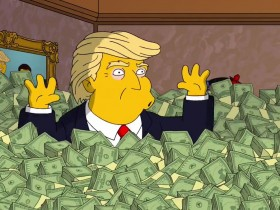 симпсон,Трамп