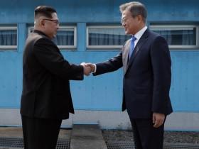 Ким Чен Ын, Мун Чжэ Ин