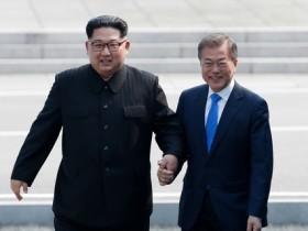 Ким Чен Ын,Мун Чжэ Ин