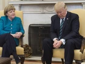 Меркель, трамп