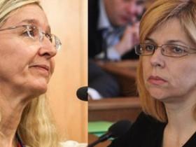 Уляна Супрун и Ольга Богомолец