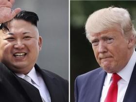 Трамп, Ким Чен Ын