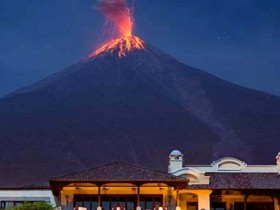 извержение Фуэго