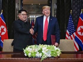 Встреча Дональда Трампа с Ким Чен Ыном