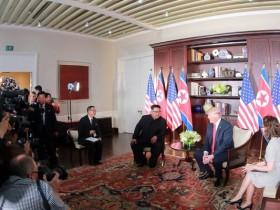 Трамп и Ким Чен Ына