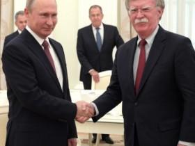 Путин и  Джон Болтон