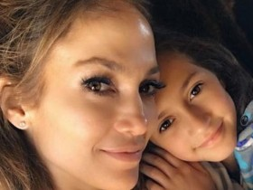 Дженнифер Лопес и дочь