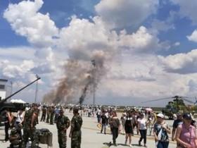 разбился МиГ-21