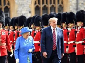Елизавета II, Трамп
